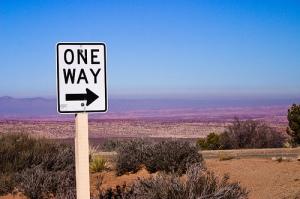 one-way