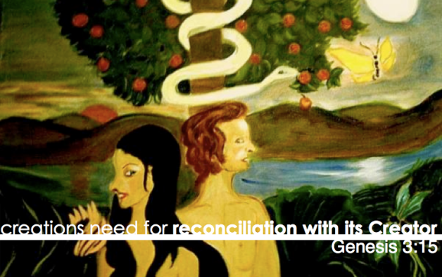 creations need for reconciliation with it Creator