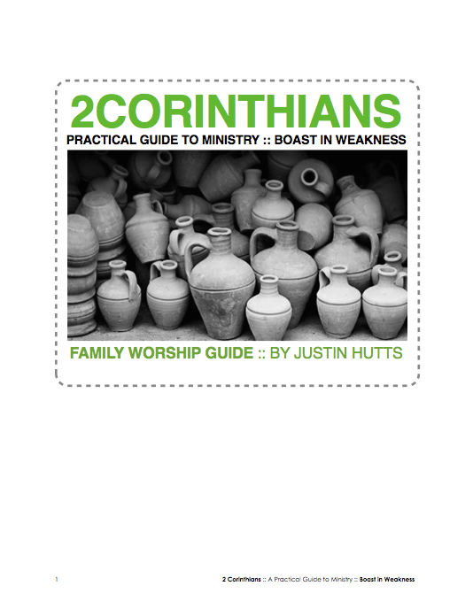 Click to download 2 Corithians Study