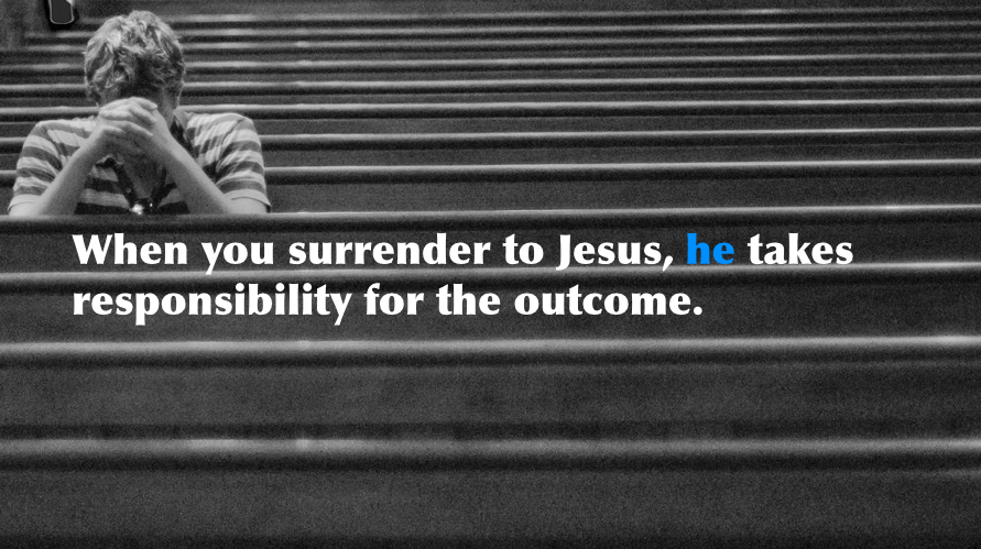 Surrendering to Jesus